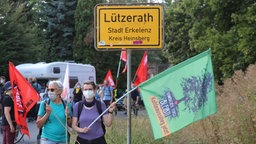 Demonstrationszug nach Lützerath