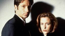 David Duchovny als Fox Mulder und Gillian Anderson als Dana Scully