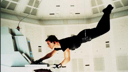 """Tom Cruise als Ethan Hunt in """"Mission Impossible"""" 
