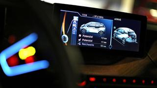 Display im BMW i3
