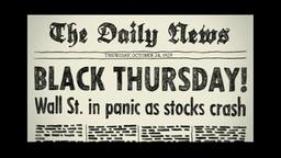 Black Thursday 1929