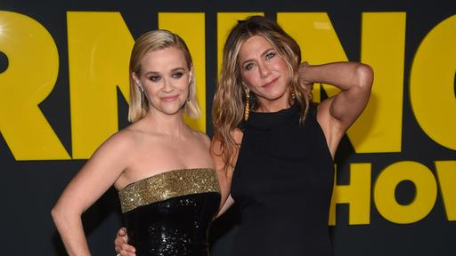 Jennifer Aniston (l.) und Reese Witherspoon |