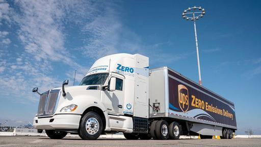 Toyota-Kenworth Fuel Cell E-Truck