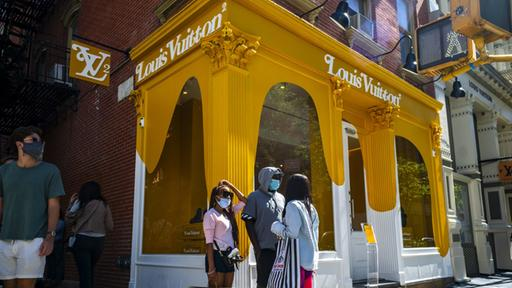 Louis Vuitton-Shop in New York |