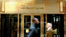 Die Büros von Merrill Lynch in New York | Bildquelle: picture-alliance/ dpa